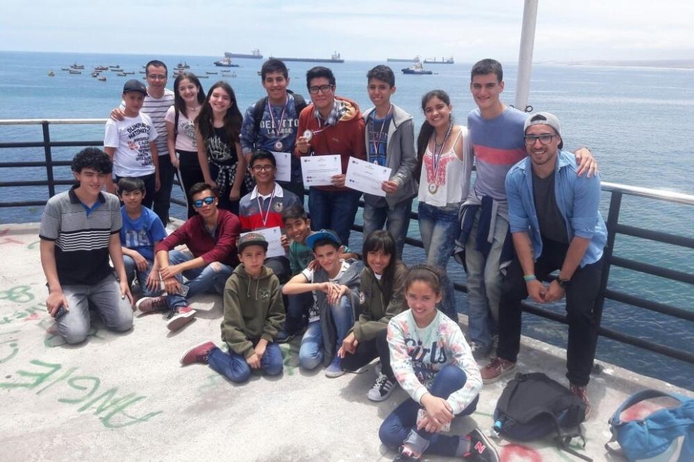 Alumnos catamarqueños obtuvieron cinco medallas en Chile