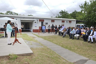 Lucía inauguró la obra del Hospital de Lavalle