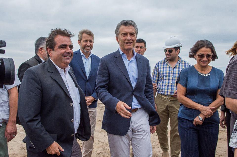 Fernando Jalil acompañó a Lucía durante la visita de Macri