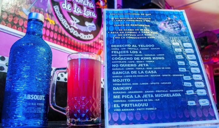 Salta: Polémica por la carta de tragos de un bar