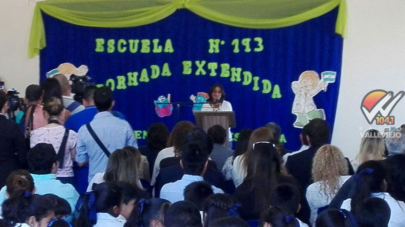 """Lucia Corpacci: """"Quiero pedirle a los papas que se comprometan a ser parte de la escuela, para exigir y para ayudar"""""""