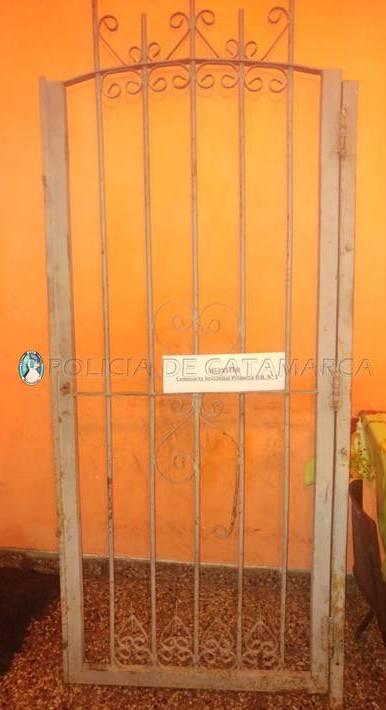 Arrestan a un joven y secuestran un portón en la zona este de la Capital
