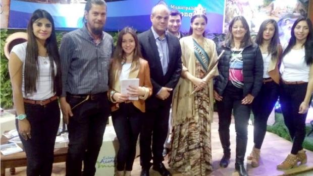 El Presidente de la Consejo Federal de Turismo, Gonzalo Robredo, visitó el Poncho 2018