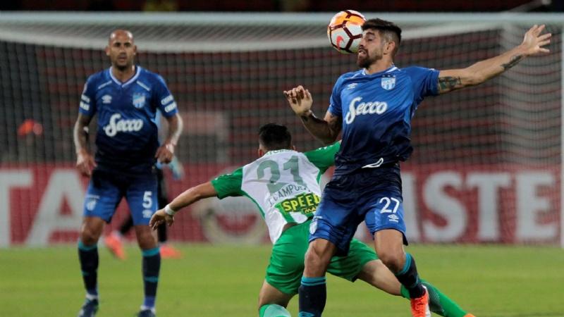 Atlético sigue haciendo historia, resistió en Medellín y clasificó