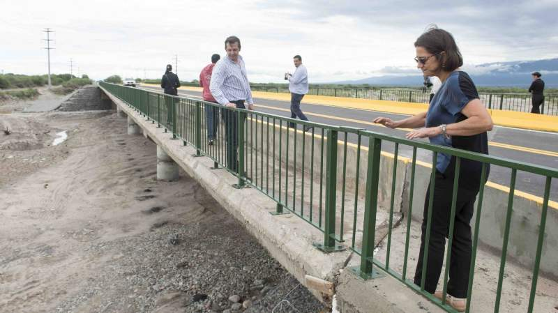 Habilitaron el tránsito en el Puente de la Ruta 33