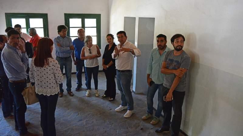 """La obra de la Hostería en """"Las Pirquitas"""" avanza a paso firme"""