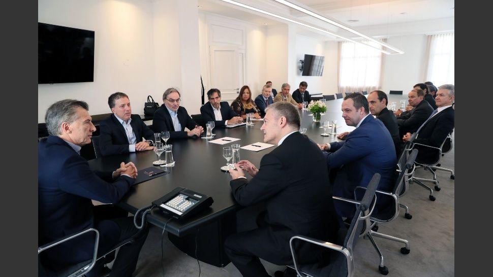 Mineras presentaron a Macri proyecto para extraer oro y cobre en Catamarca