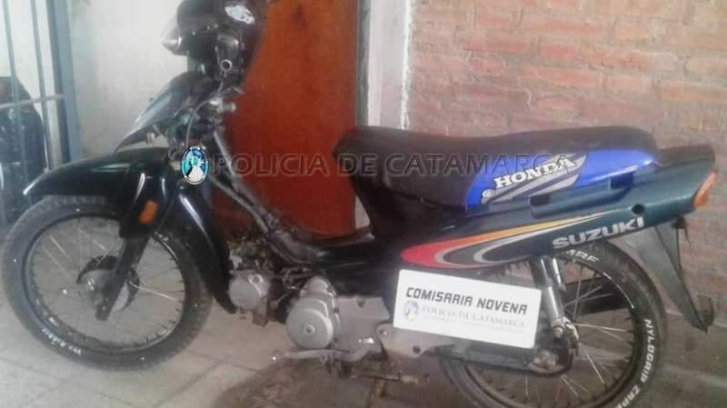 Policías recuperaron una moto robada hace 11 años
