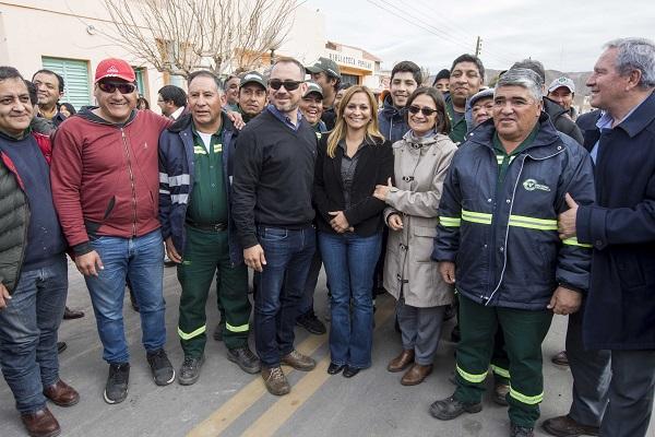 Lucía inauguró obras y habilitó un Centro de Integración Familiar en Fiambalá