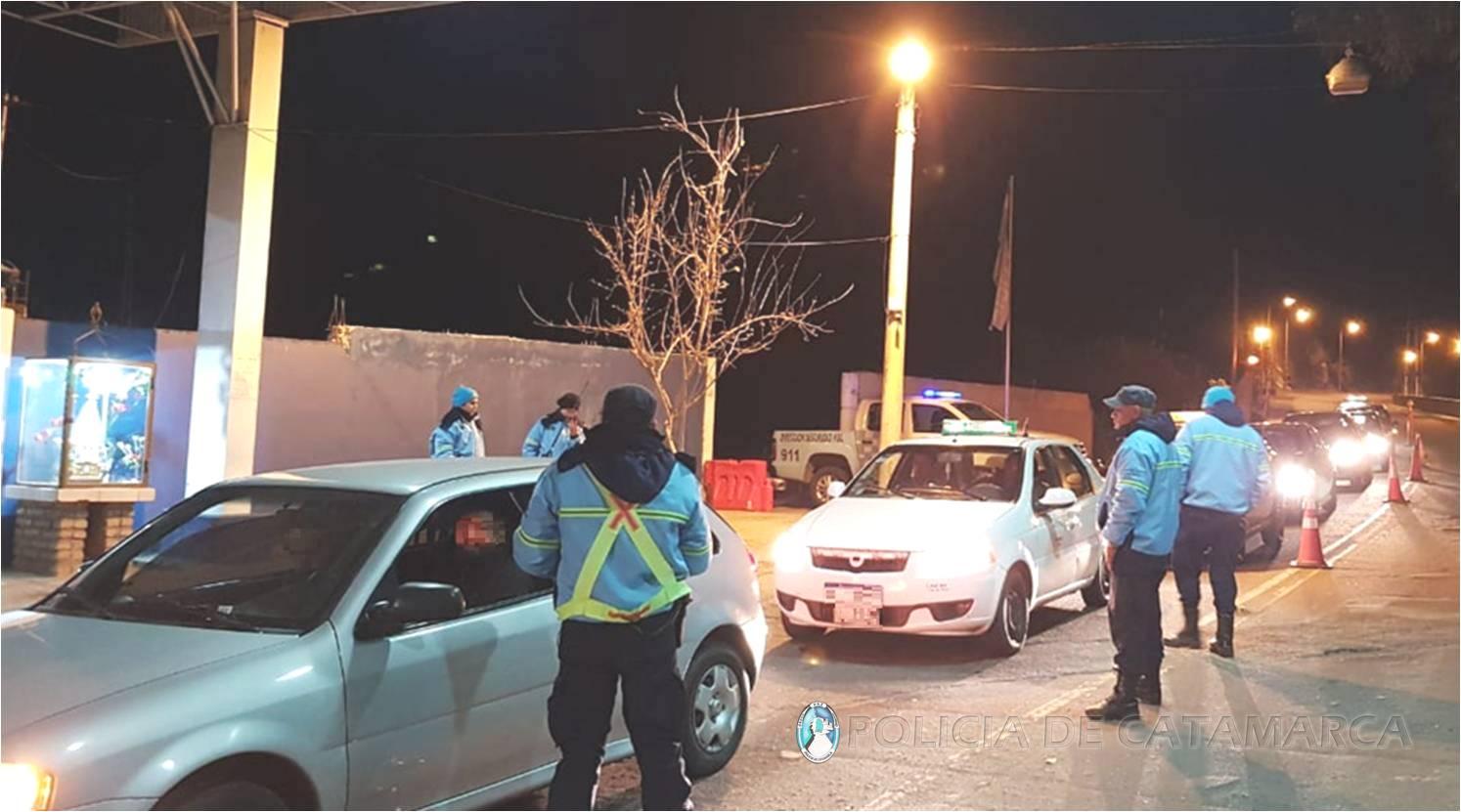 Secuestran diecinueve vehículos por alcoholemia positiva en la zona alta de la Capital