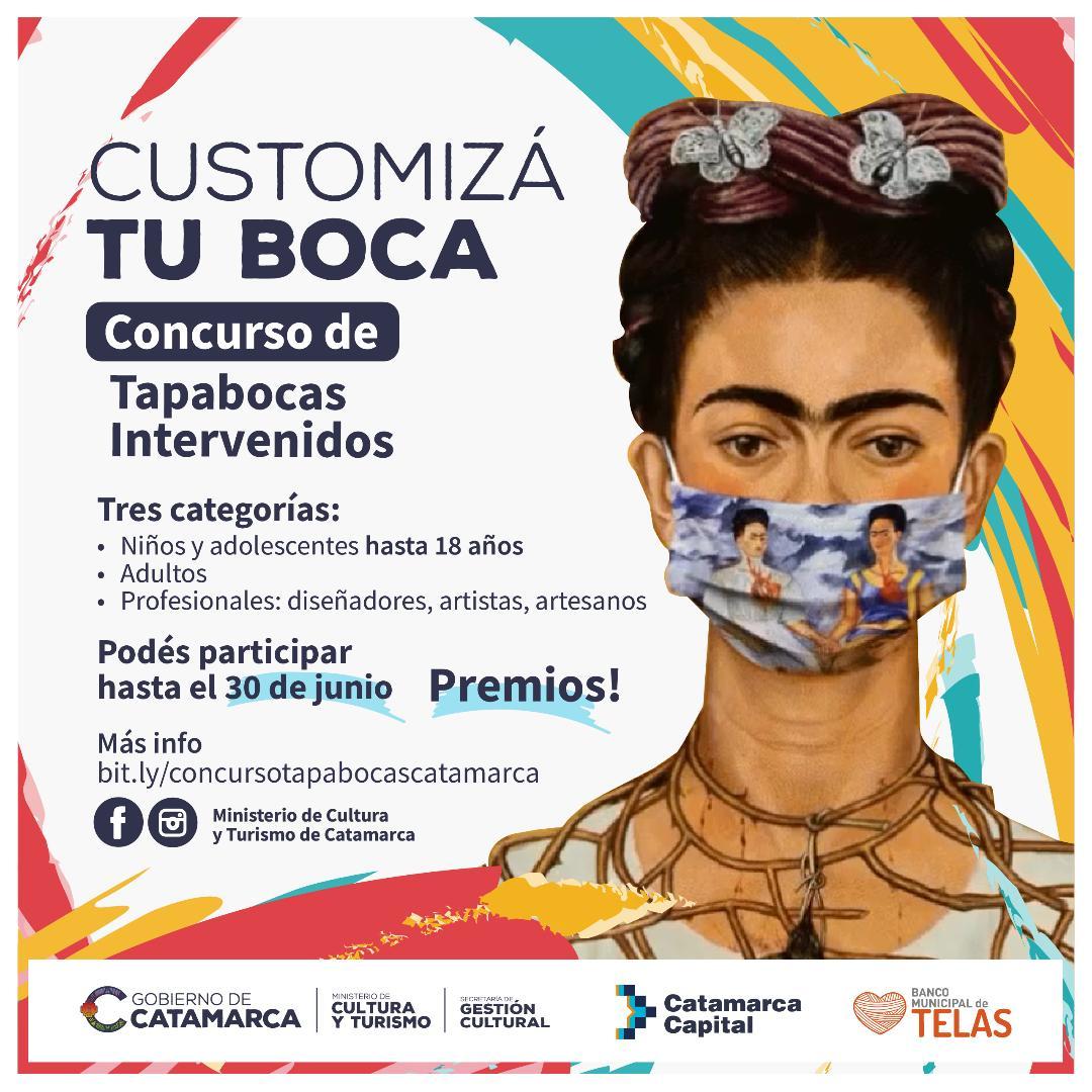 """Últimos días para participar del concurso """"Customizá Tu Boca"""""""