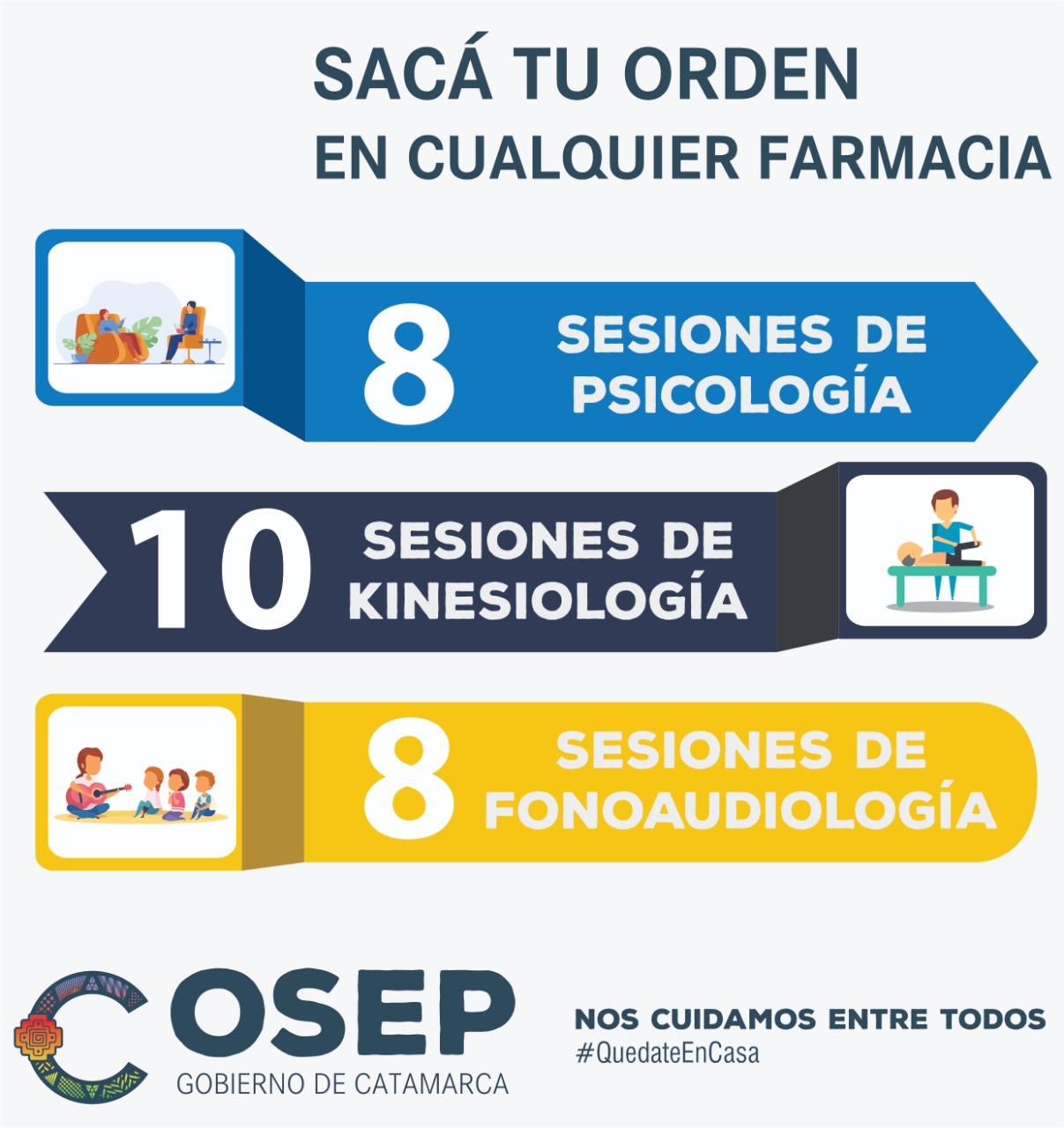OSEP reabre nuevas delegaciones y amplía órdenes en farmacias privadas