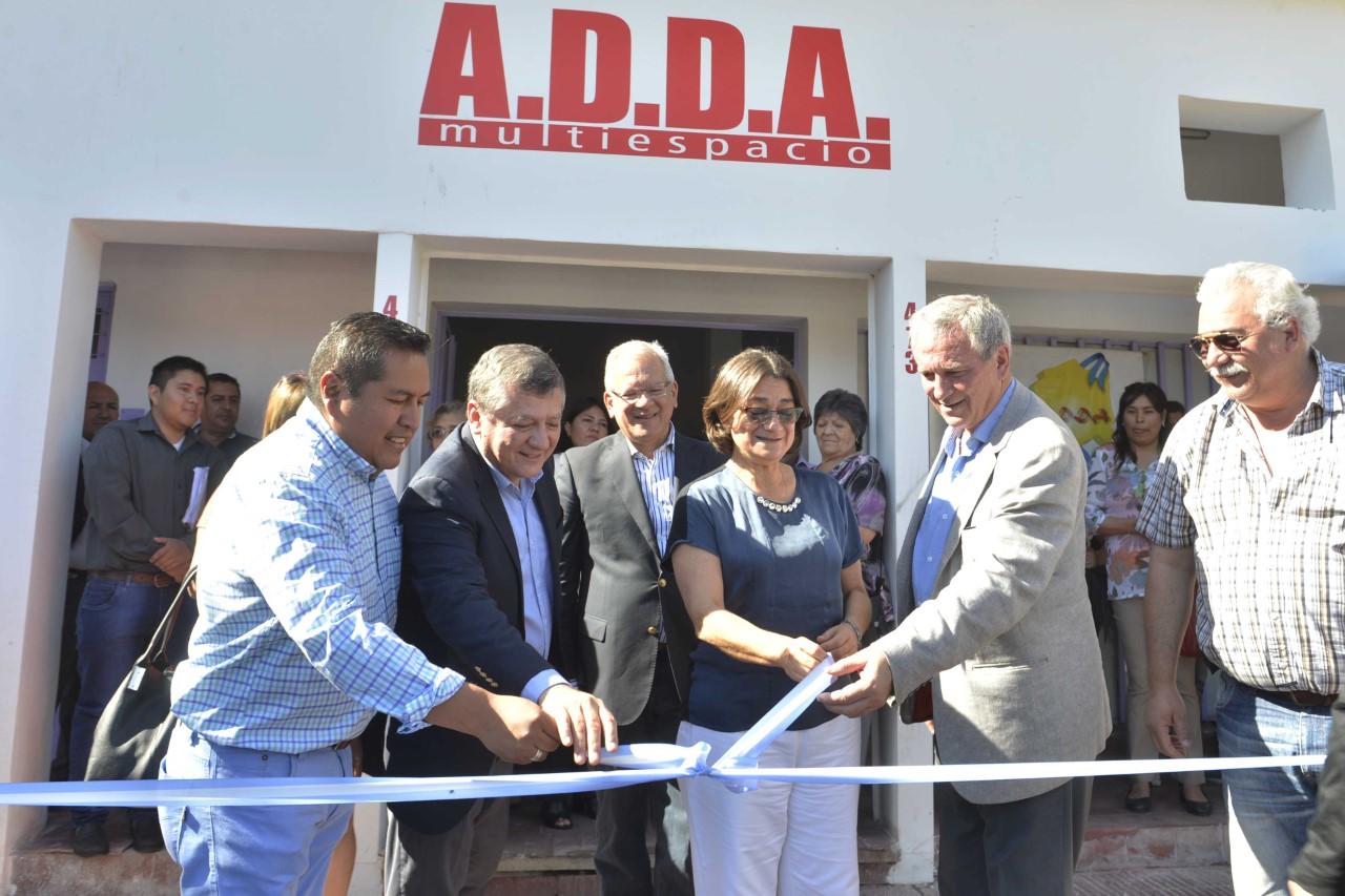 Lucía habilitó las instalaciones de ADDA