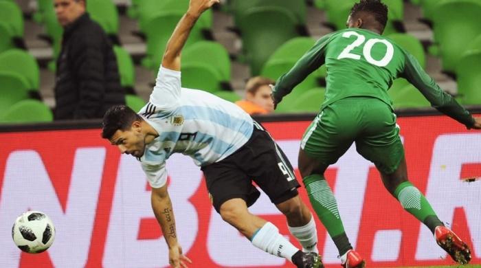 Dura derrota de Argentina ante Nigeria