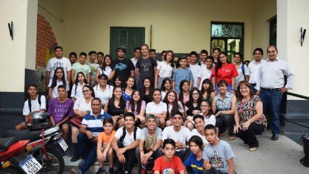 Alumnos de la Escuela Municipal Miguel Cané viajarán a Chile