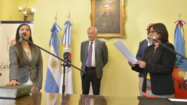 Asumieron tres funcionarios en el gabinete de Corpacci