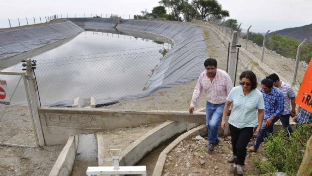 Lucía estimó que se triplicará el volumen de producción en Pomán