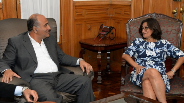 Lucía se reunió con Manzur en Tucumán