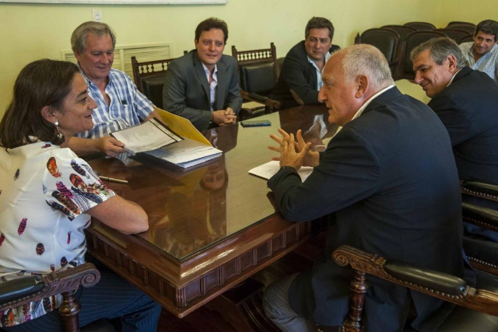 La Gobernadora recibió a funcionario nacional por el Plan Belgrano