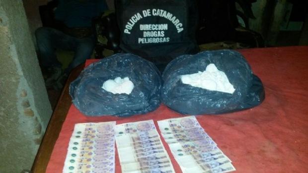 En allanamientos simultáneos, incautan cocaína 'alita de mosca'