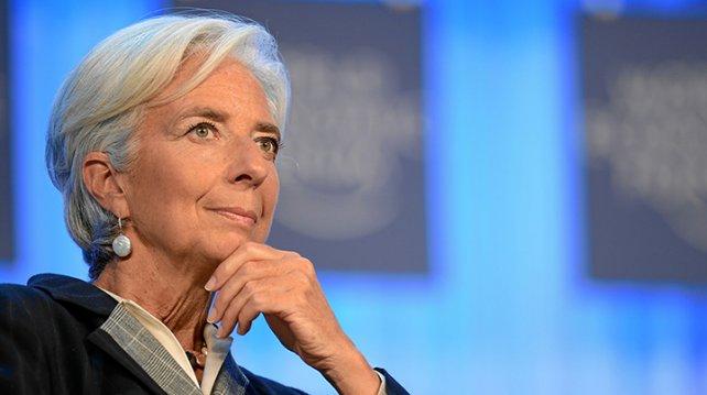 Llega a la Argentina la directora del FMI
