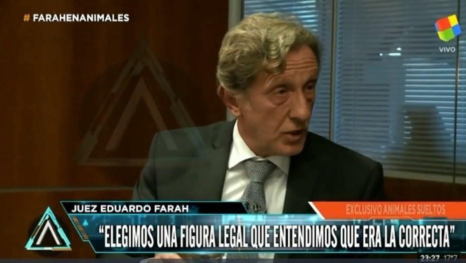 """""""Mauricio Macri tendría que medirse un poco"""" dijo el juez que libero a Cristobal Lopez"""