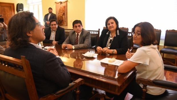 Garavano visitó a la Gobernadora