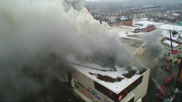37 muertos tras incendio en shopping de Rusia