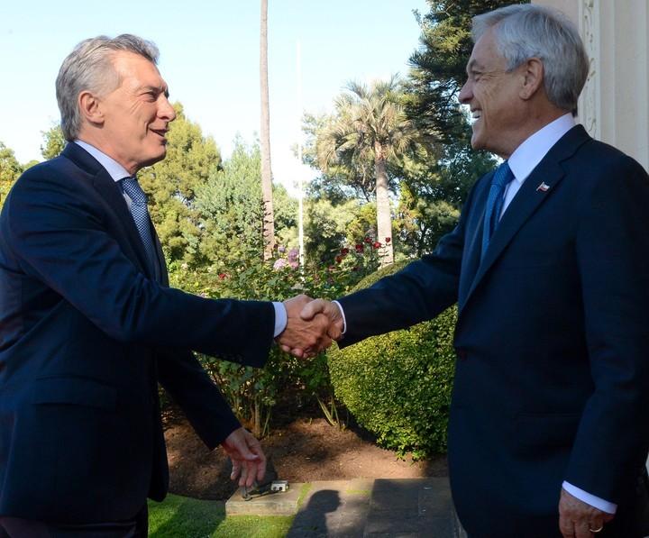 Macri se reunió en Chile con Piñera