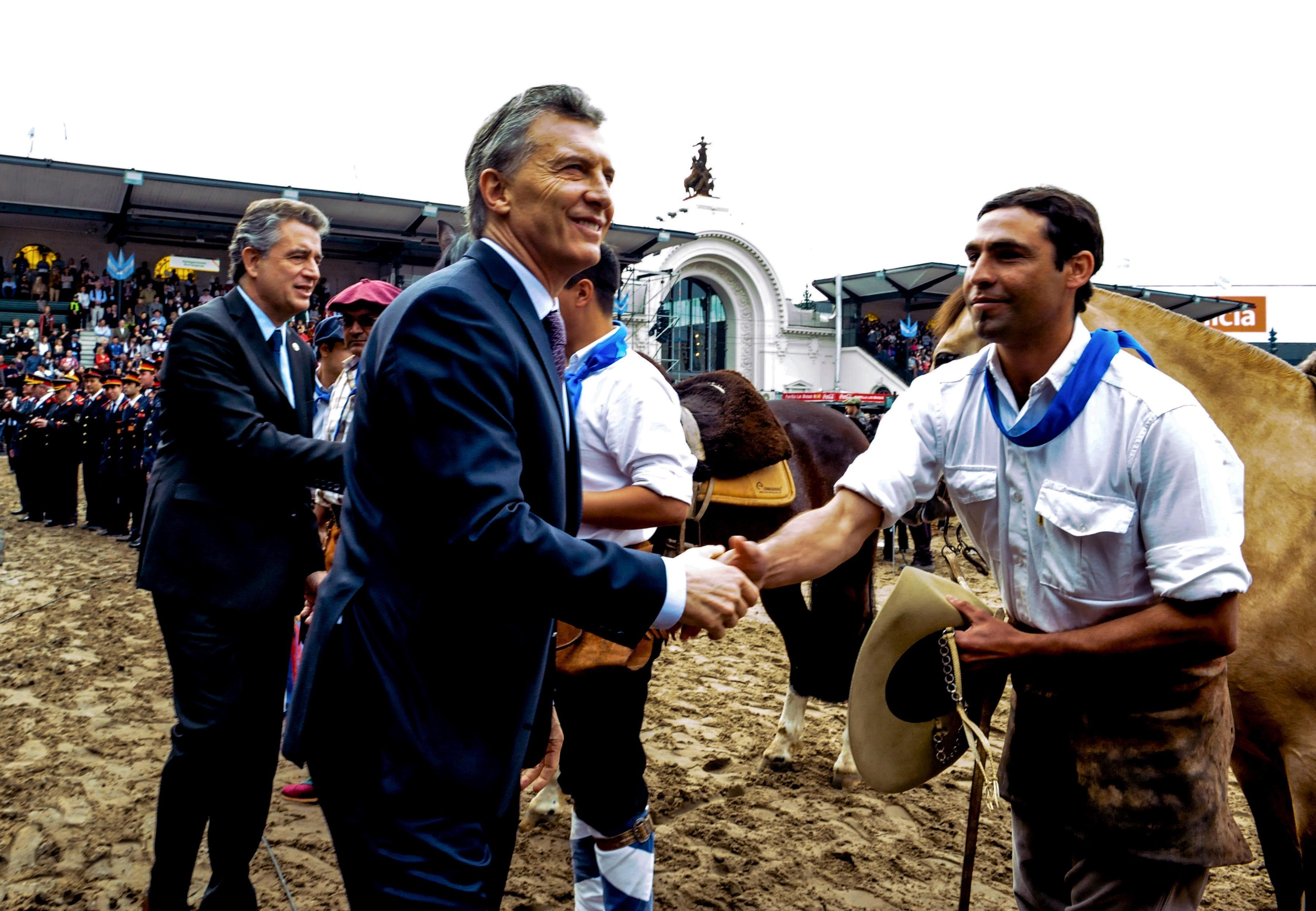 Expoagro: Macri anuncio nuevos créditos para los productores afectados por la sequía