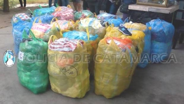 Secuestraron 170 mil pesos en mercaderia