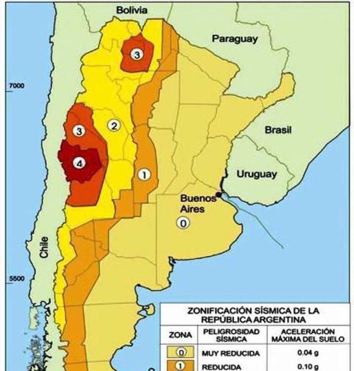 Siete sismos se registraron en Jujuy, en el ultimo mes
