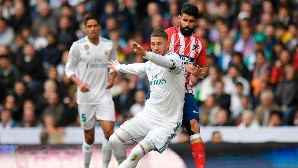 El Atletico de Simeone empato con el Real Madrid