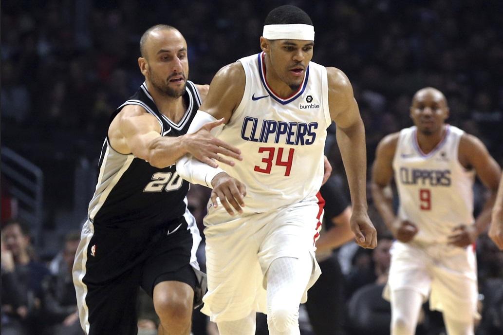 San Antonio perdió con los Clippers