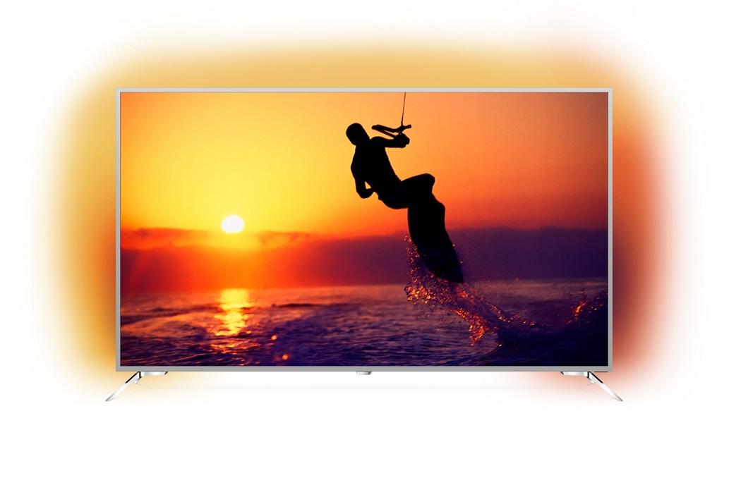 Phillips presento su nuevo Smart TV 4K de 75 pulgadas