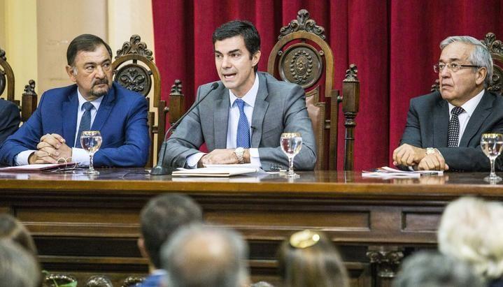 Urtubey marcó distancia de Macri en su discurso de apertura de sesiones