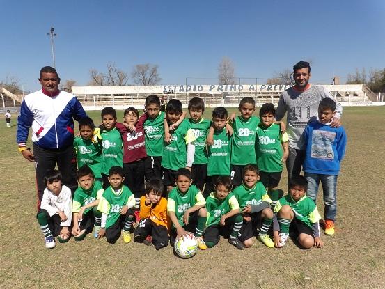 Se completa la segunda del fútbol infantil Chacarero