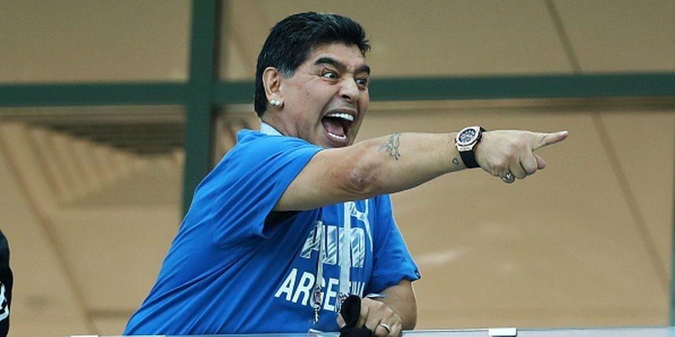 """Maradona busca al autor """"su muerte"""" ofrece una importante recompensa"""