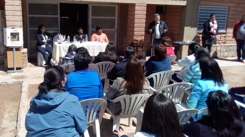 Asumieron las nuevas directoras del Área Programática 14 Antofagasta de la Sierra