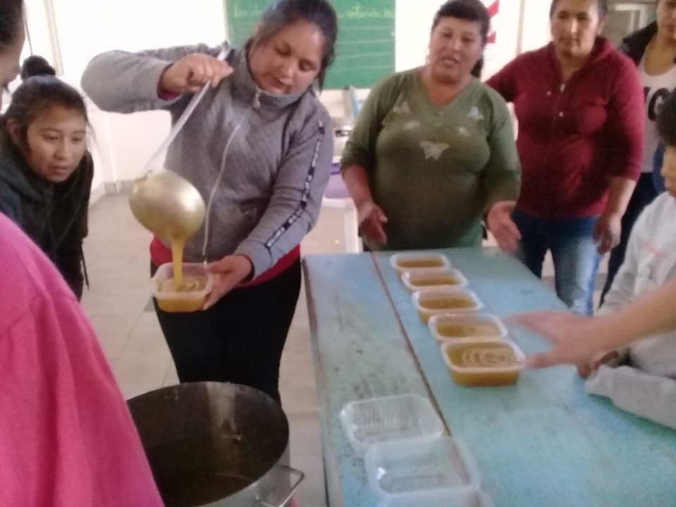 En El Peñón, se viene el agregado de valor para los frutales