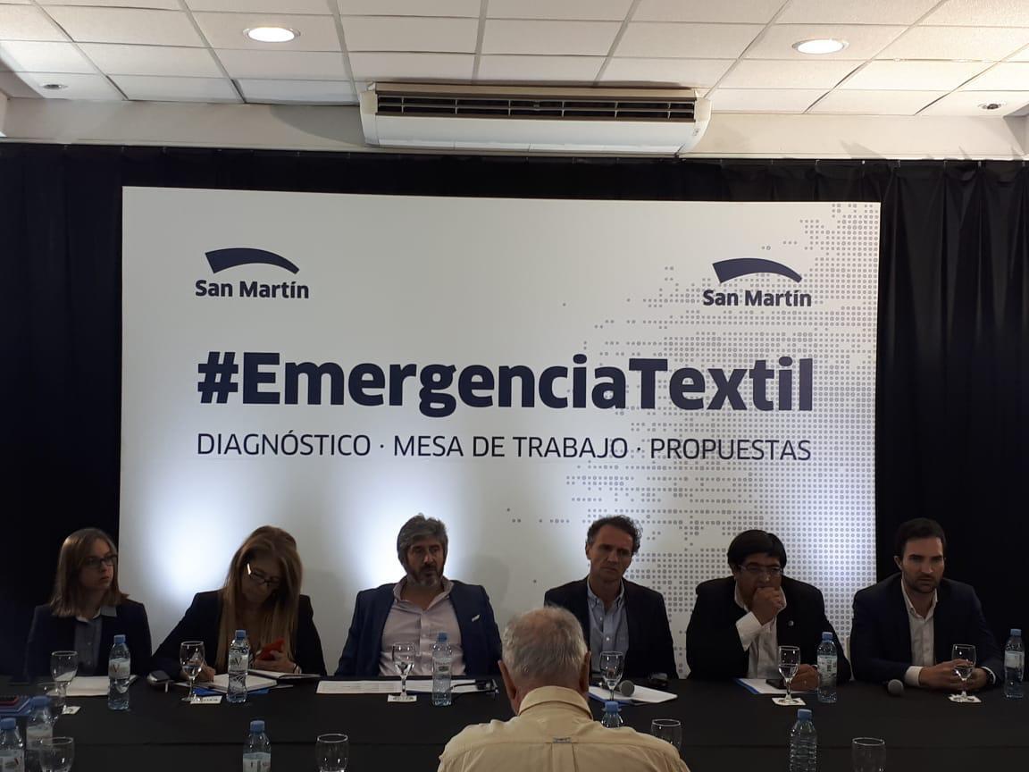 Producción participó de la Mesa de Emergencia Textil de la República Argentina