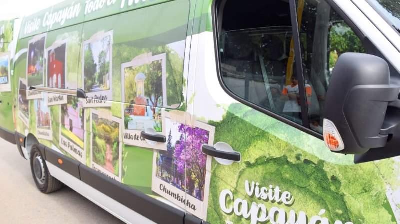 La municipalidad de Capayán cuenta con combi nueva