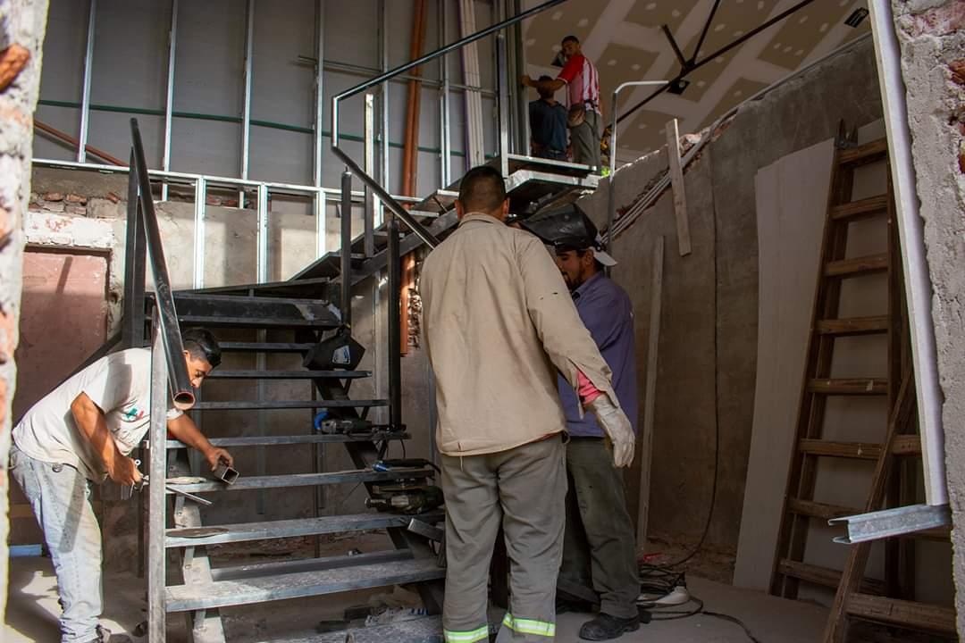 Avanza la obra de remodelación del Pabellón N°1del C.A.P.E