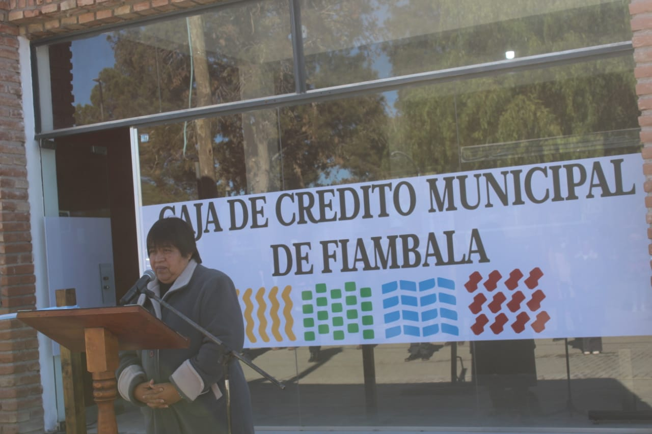 FIAMBALÁ CUENTA CON CAJA CRÉDITO MUNICIPAL