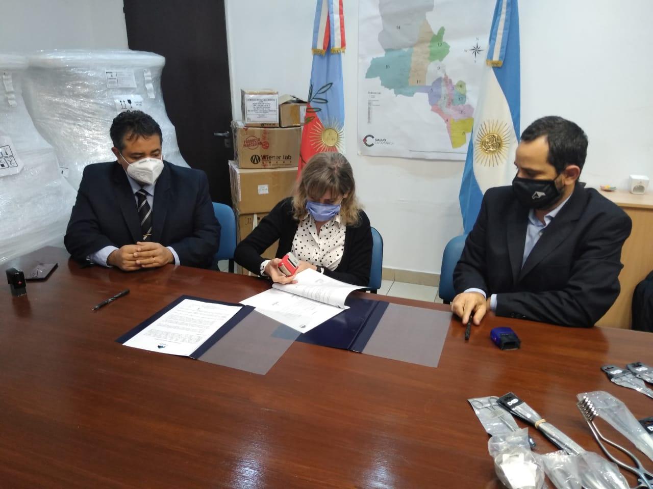Minera Alumbrera entregó equipamiento médico para el sistema de salud de Catamarca