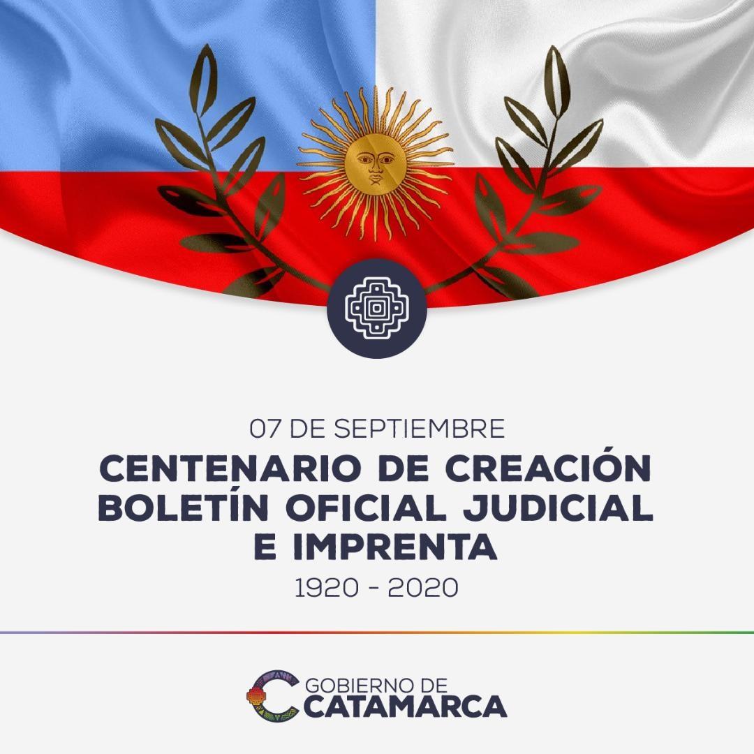 Centenario de la creación del Boletín Oficial de la Provincia