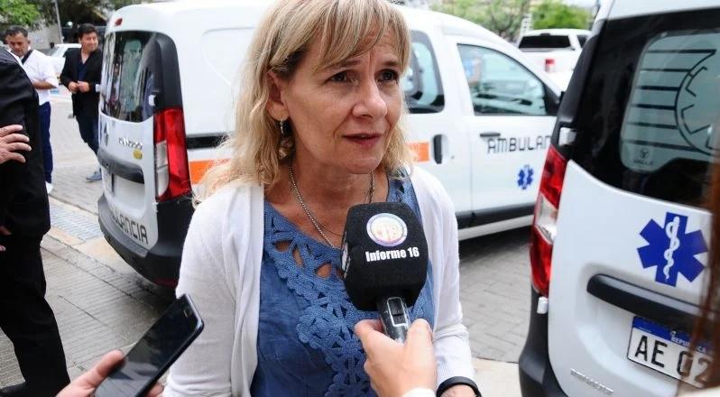 La ministra Palladino indicó que se evidencia una disminución pero pide continuar con los cuidados