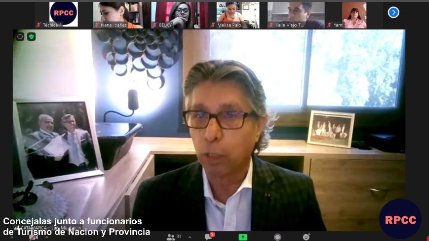 Maubecín participó de encuentro sobre Turismo invitado por la Red de Concejalas