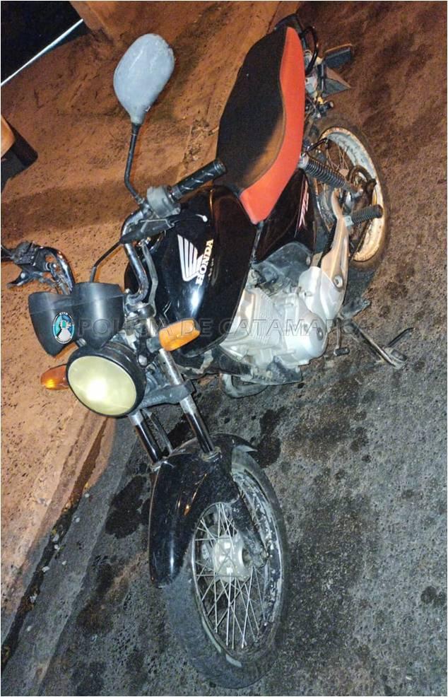 Secuestran una moto en el sur de la Capital
