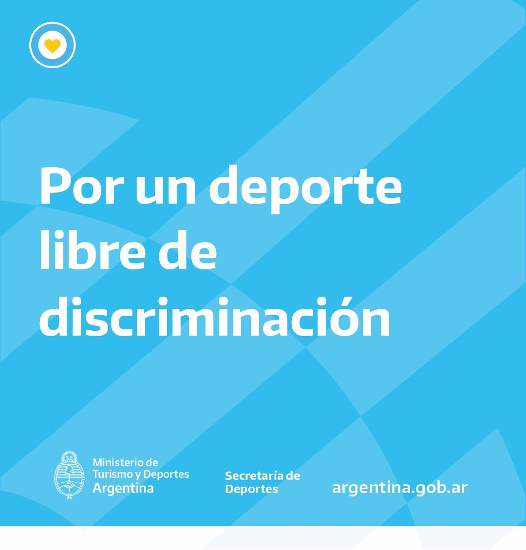 Por un deporte libre de discriminación